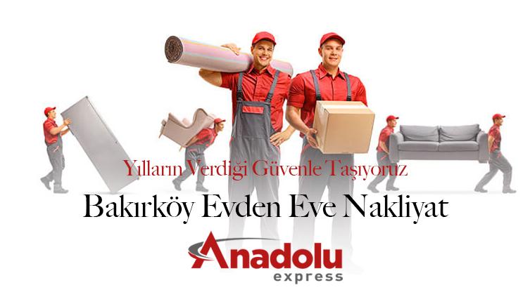 Bakırköy Evden Eve Nakliyat